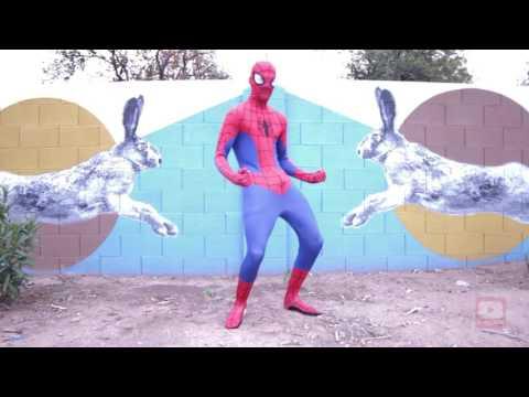 PELVIC THRUSTING SPIDER-MAN