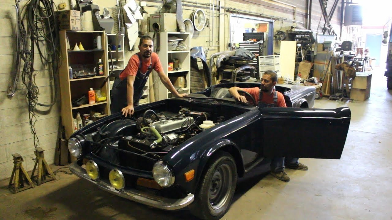 1973 Triumph TR6 restoration - part 22 - wiring the overdrive, horn on