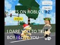 DARES ON ROBLOX #2