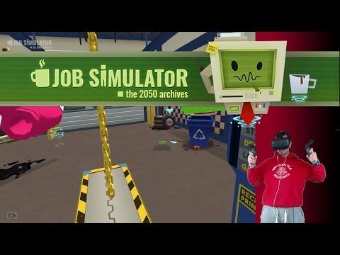 El mecánico sexy - Job Simulator (HTC VIVE VR)