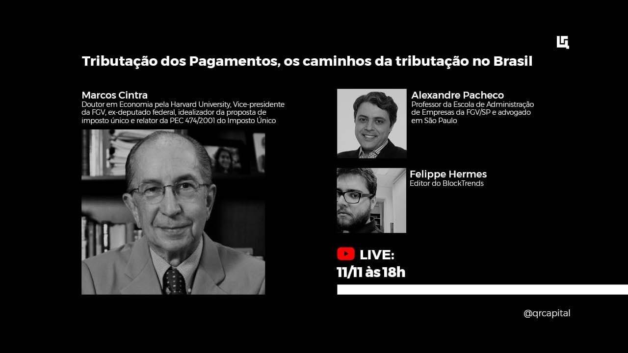 Live: Os caminhos da tributação no Brasil