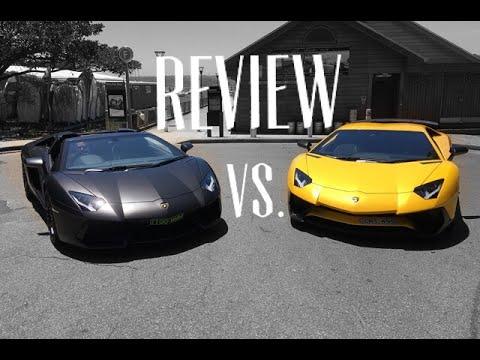 Lamborghini Aventador SV Supercar Full Review