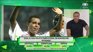 Denilson: São Paulo vencerá Timão de 3 a 1 no primeiro jogo
