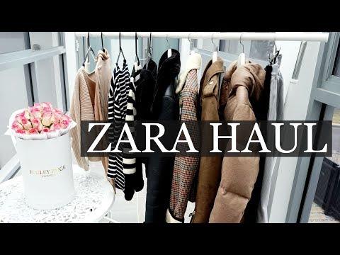 ZARA Try On Haul | H&M, UNIQLO, Collective...