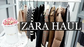 ZARA Try On Haul   H&M, UNIQLO, Collective Haul