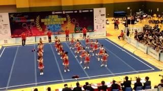 元朗區體育節2016 元朗區啦啦隊公開錦標賽 小學女子組 香