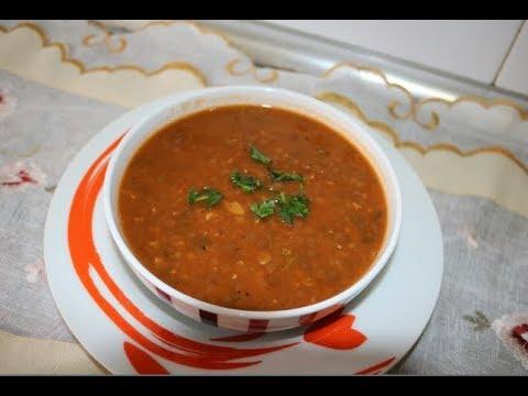 cuisine-algérienne:-les-lentilles-facile-et-rapide-عدس-لذيذ-وصحي-على-طريقتي---matbakh-kamar