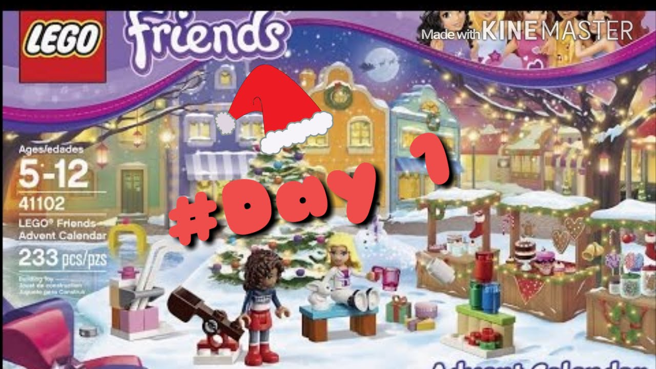 lego friends 2015 advent calendar day 1 opening youtube. Black Bedroom Furniture Sets. Home Design Ideas