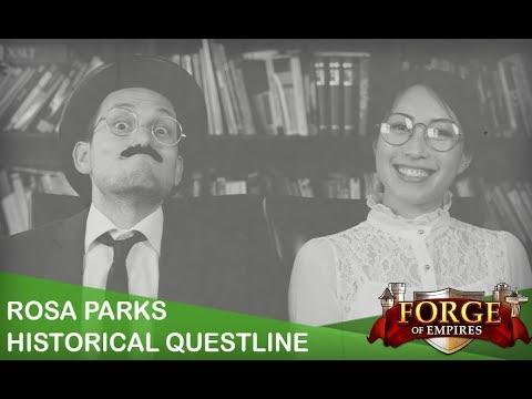 Forge of Empires - Rosa Parks Historical Questline