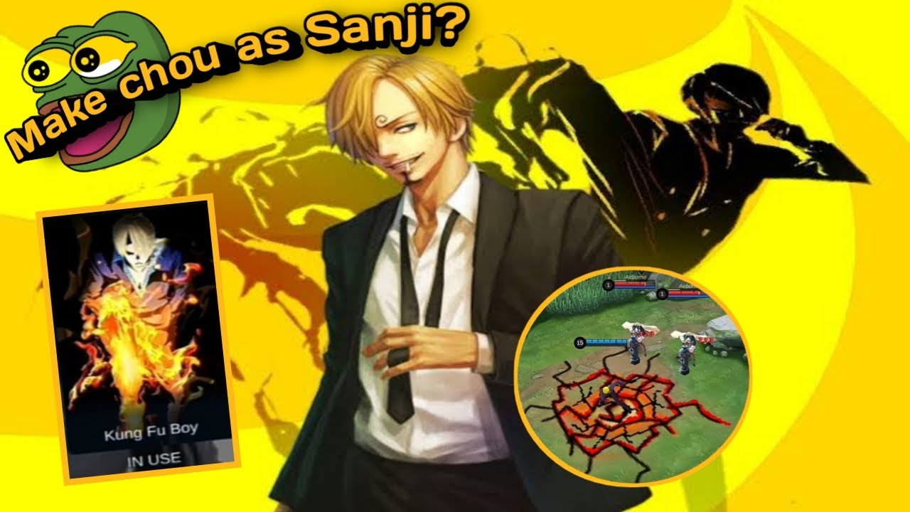 How To Use Sanji Skin As Chou One Piece Character Youtube