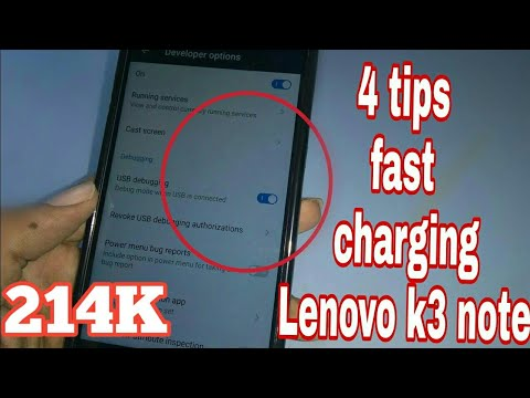 4 tips fast charging in lenovo phones