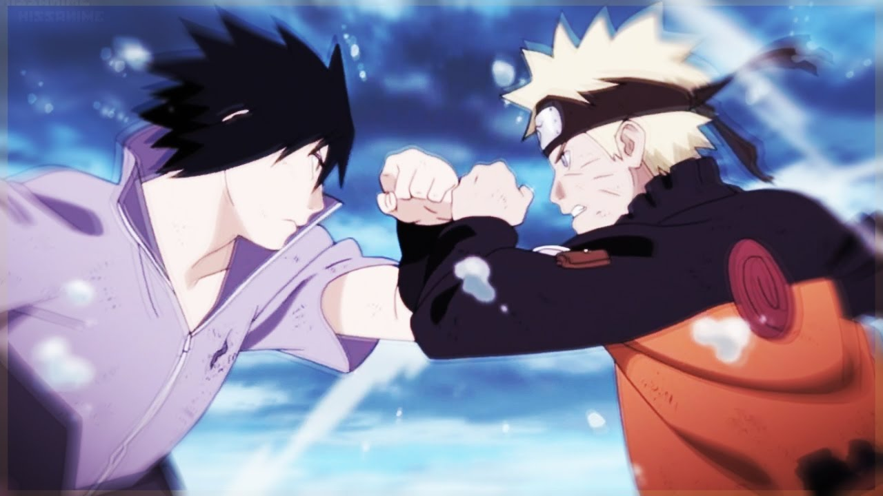 naruto vs sasuke amv faded youtube