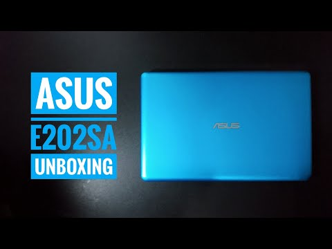 ASUS E202SA Unboxing - with Subtitle