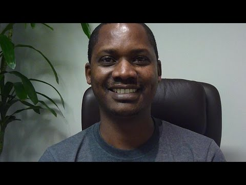 KERATOCONUS: Jacob made the decision to travel from Rwanda Africa to see Dr. Brian