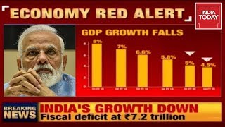 India's GDP Decline Continues; What Is The Impact Of This On Economy?