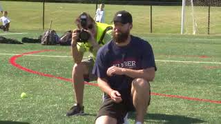 Indians' ace holds baseball camp in Mentor