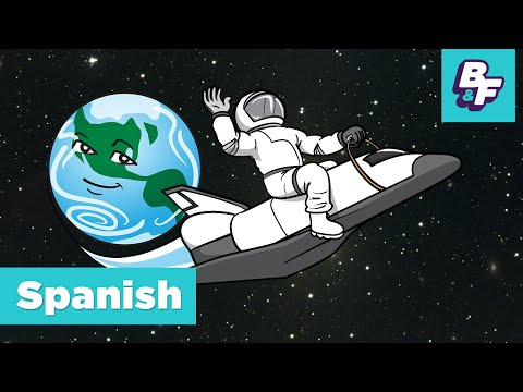 Learn The Planets – Spanish Solar System Song For Children With BASHO AND FRIENDS - Los Planetas