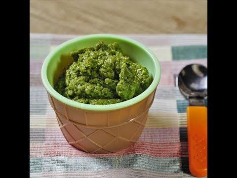 Piure de broccoli și cartof dulce