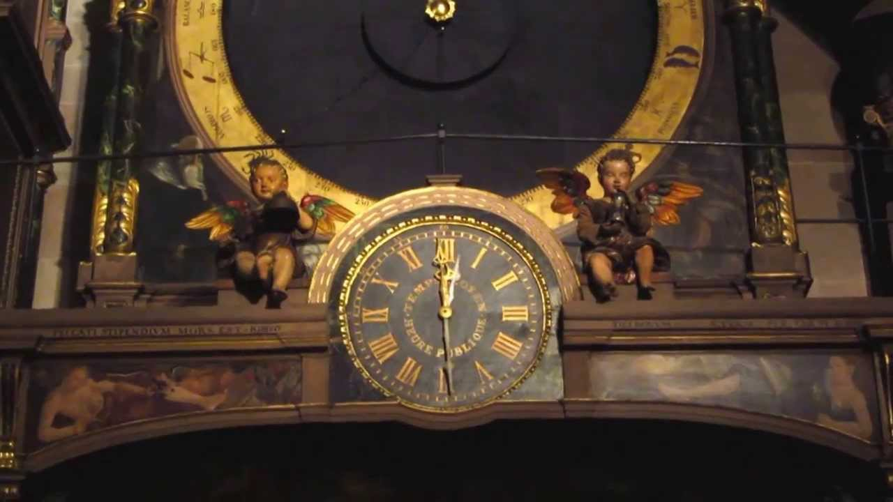 Astronomical Clock Strasbourg Cathedral - YouTube