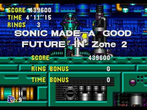 Sonic CD Stage 7 - Metallic Madness Zone