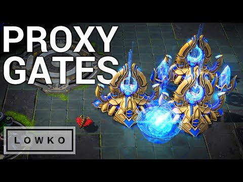 StarCraft 2: Proxy Four Gate!