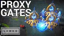 StarCraft 2: Proxy Four Gate!
