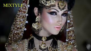 Традиционный азиатский свадебный макияж ❤ Сказочная невеста из Индии 4⃣