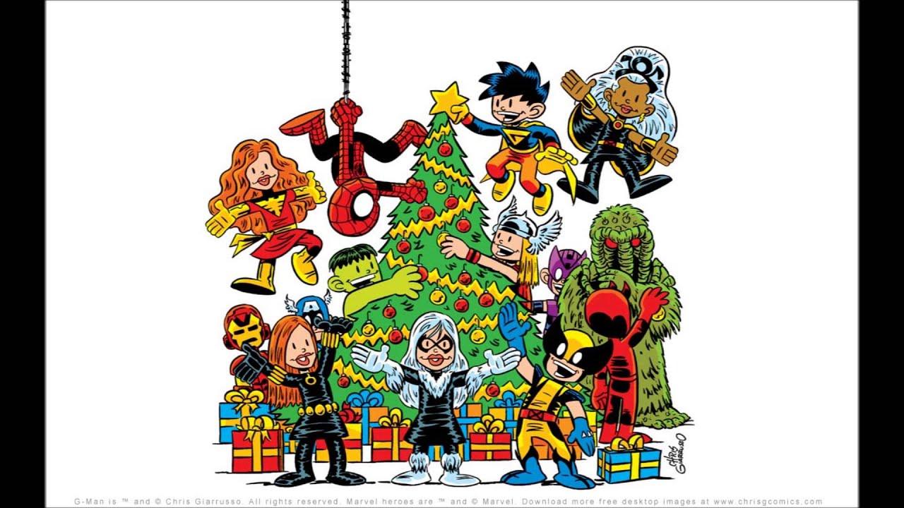 joe quesada - marvel comics for christmas - youtube