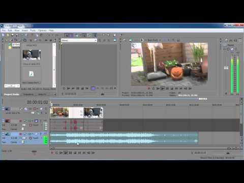 "Sony Vegas pro 11: Beginner tutorial ""Getting started"""