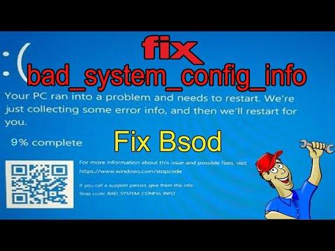 how-to-fix-bad_system_config_info-error-in-windows-10-(2020-best-method)-blue-screen-of-death-error