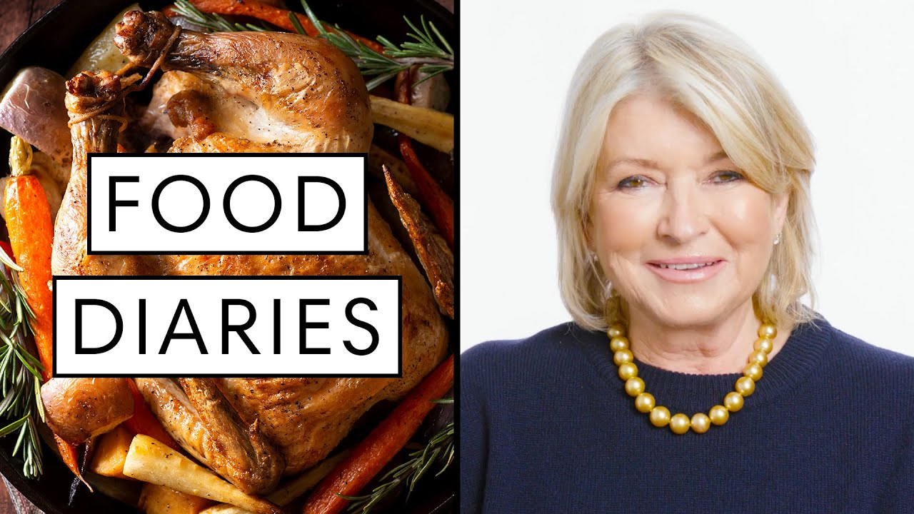 Everything Martha Stewart Eats in a Day | Food Diaries: Bite Size | Harper's BAZAAR
