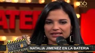 """Natalia Jiménez cantó """"creo en mi"""" en La Batería"""