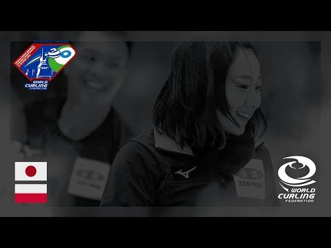 Japan v Poland - Round-robin - World Mixed Doubles Curling Championship 2018