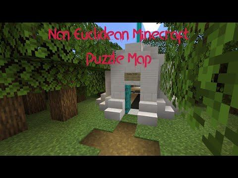 Non Euclidean Puzzle Map | Minecraft |