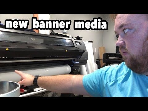 Printing Banners On The HP Latex - Vlog 80 - Print Shop Updates