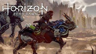 Horizon Zero Dawn #5 - ANDANDO DE CAVALO