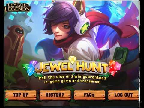 JEWEL HUNT league of legends
