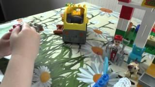 Обзор Конструктора JDLT 5211 Веселая ферма Funny PasturySurvey Builder
