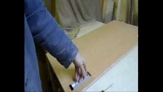 видео врезные ручки для мебели