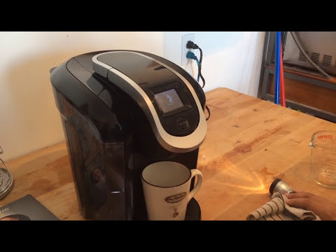 keurig #1 coffee maker fix. not pouring anymore Doovi