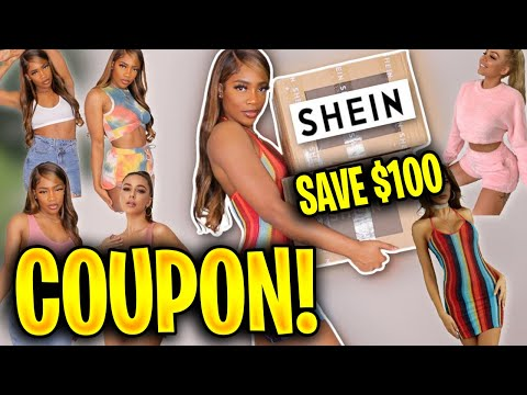 $100 SHEIN Coupon Code 2020 🛍️ FREE SHEIN Discount In Under 5 Minutes! JULY 2020! 🛍️