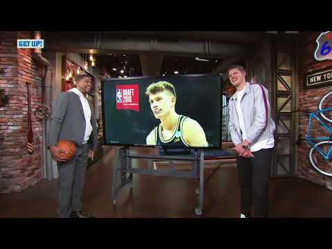 Jalen Rose breaks down film of Moritz Wagner ... in front of Moritz Wagner | Get Up | ESPN