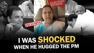 Sumitra Mahajan on Rahul Gandhi Hugging PM Modi | NewsMo