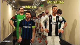 PES 2018 | LIONEL MESSI going to INTER ? | Juventus vs Inter | Ronaldo vs Messi | Gameplay PC