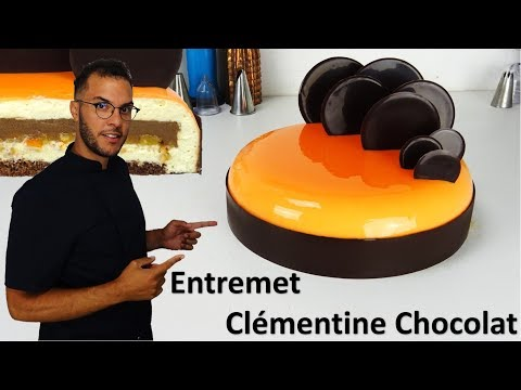 recette-entremet-clÉmentine-chocolat