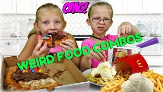 Trying WEIRD Food Combinations People LOVE!!!