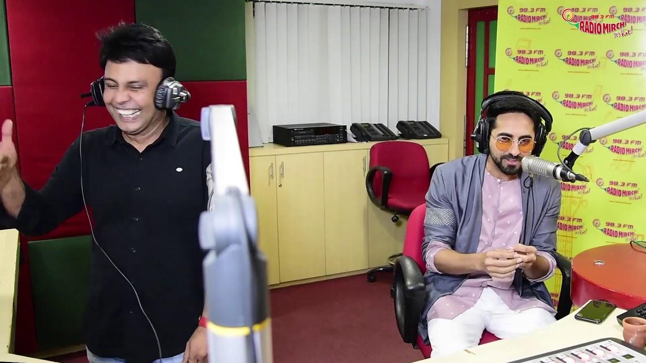 ayushmann khurrana as radio jockey