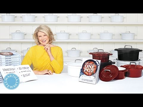 How To Use An Enameled Cast Iron Pot - Martha Stewart