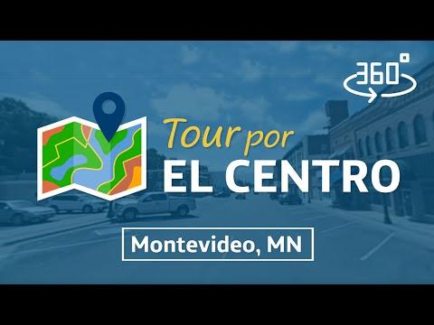 Tour 360° por el centro de Montevideo Minnesota.