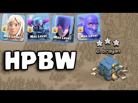 HPBW Strategy TH12 | Best  Max Pekka Army Th12 War  3 Star Attack Guide Clash Of Clans